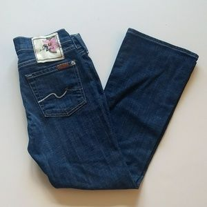 7 For All Mankind Jeans 25 27x26